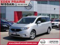 Certified Pre-Owned 2017 Nissan Quest SV FWD Mini-van Passenger