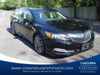 Certified 2016 Acura RLX RLX with Technology Package in Richmond VA