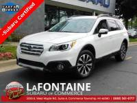 Certified Used 2016 Subaru Outback 2.5i Commerce Township, MI