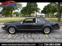 1989 Lincoln Mark VII 2dr Coupe LSC