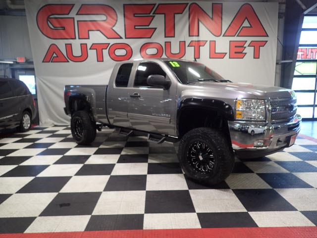 Photo 2013 Chevrolet Silverado 1500 1 OWNER LIFTED UP EXT CAB LT Z71 4X4 ONLY 81K