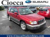 Used 2002 Subaru Forester S For Sale Allentown, PA
