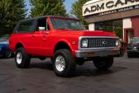 1972 Chevrolet Blazer 4x4, Red/Black int. Rare 4-Speed
