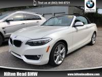 2015 BMW 228i Convertible 228i * BMW CPO Warranty * One Owner * Navigation * Convertible Rear-wheel Drive