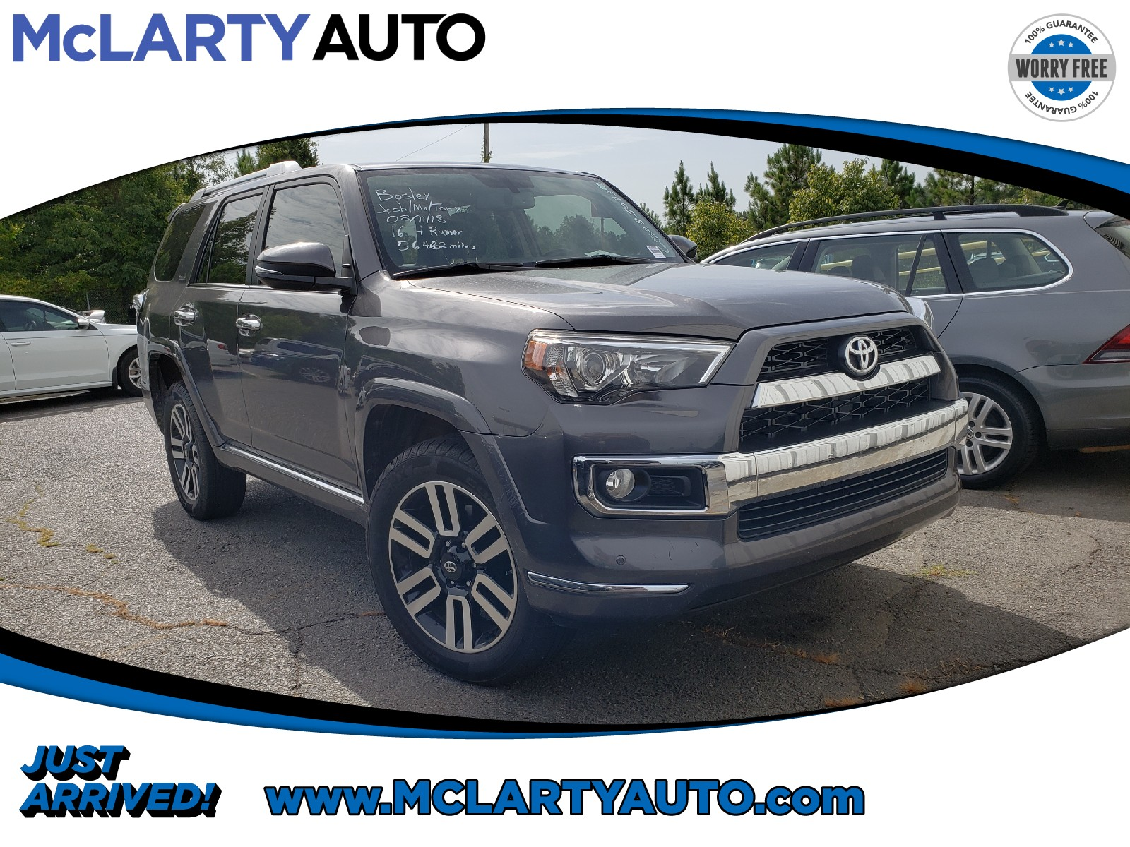 Photo Pre-Owned 2016 Toyota 4Runner Limited in Little RockNorth Little Rock AR