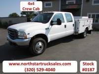 Used 2003 Ford F-350 4x4 Service Utility Truck