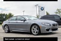 Certified Pre-Owned 2015 BMW 6 Series 640i Xdrive Gran Coupe in Peoria, IL