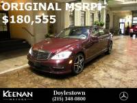 Certified Pre-Owned 2012 Mercedes-Benz S-Class AMG® S 63 SEDANWith Navigation