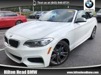 2015 BMW 2 Series M235i * BMW CPO Warranty * One Owner with ONLY 420 Convertible Rear-wheel Drive