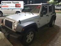 Pre-Owned 2012 Jeep Wrangler Unlimited Sport SUV 4x4 in Avondale, AZ