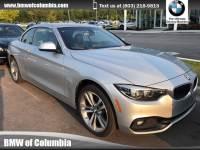 2018 BMW 430i xDrive Convertible 430i xDrive Convertible All-wheel Drive