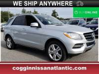 Pre-Owned 2013 Mercedes-Benz M-Class ML 350 4MATIC SUV in Jacksonville FL