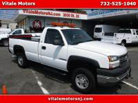 2005 Chevrolet Silverado 2500HD LONG BED 4X4 SNOW PLOW