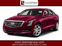 2016 Cadillac ATS Luxury Collection RWD