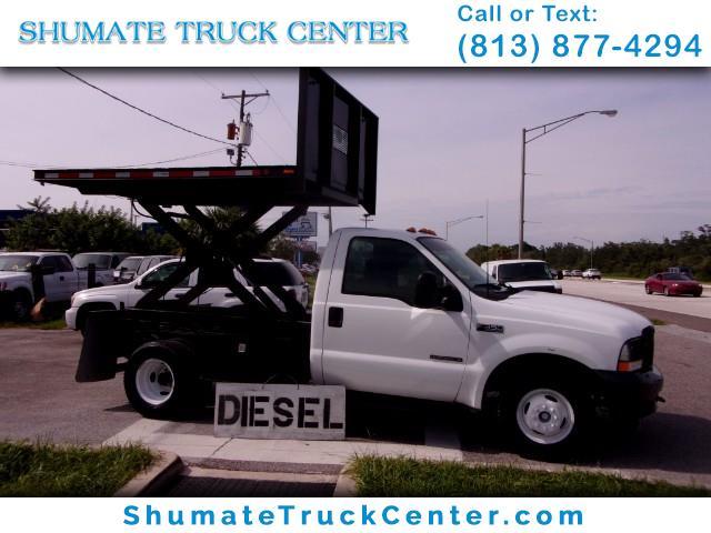 Photo 2002 Ford F-350 Sizzor Lift  Dump Combo 7.3 Diesel
