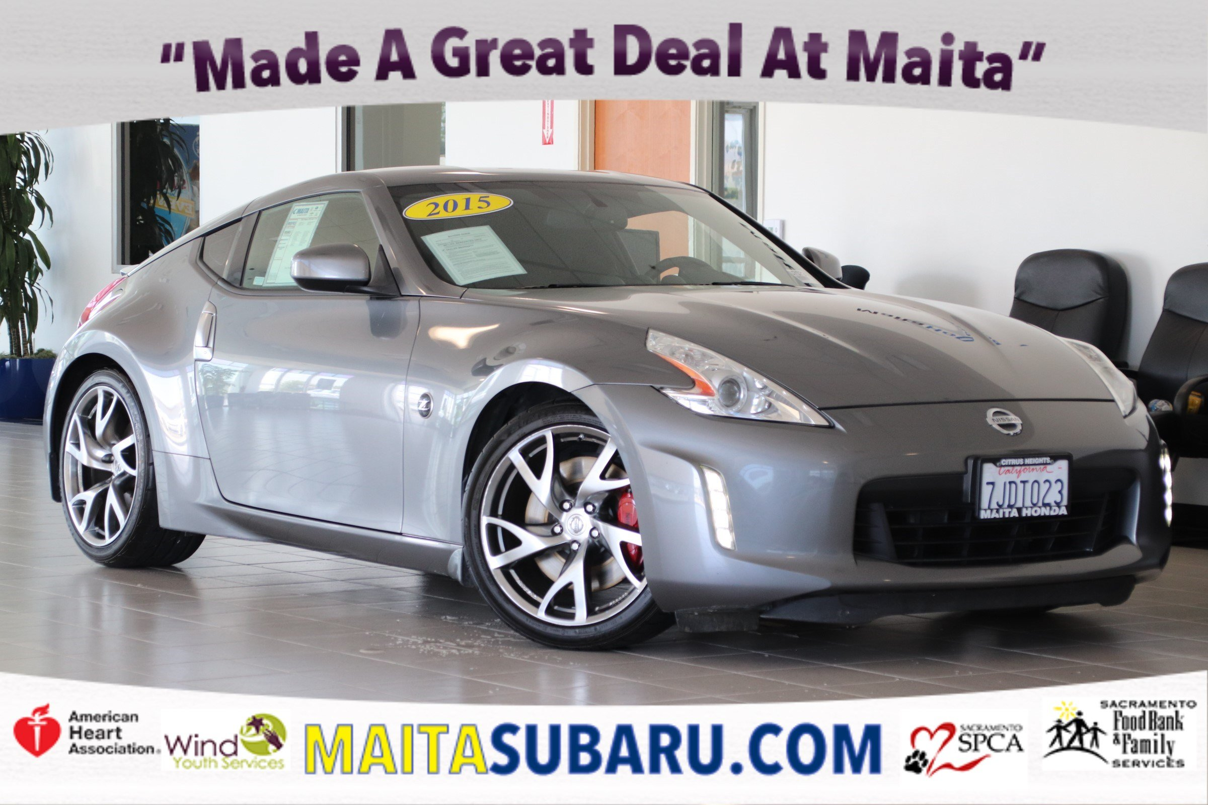 Photo Used 2015 Nissan 370Z Sport Tech Available in Sacramento CA