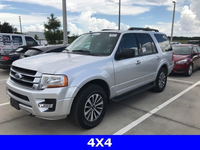 Photo Used 2017 Ford Expedition XLT 4X4 W Leather, Remote Start, Power Liftgate SUV V-6 cyl in Kissimmee, FL