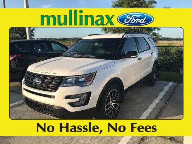 Photo Used 2016 Ford Explorer Sport AWD W Navigation, Hands Free Liftgate, 20 W SUV V-6 cyl in Kissimmee, FL