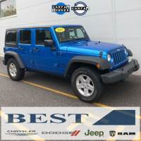 CERTIFIED PRE-OWNED 2015 JEEP WRANGLER UNLIMITED SPORT 4WD