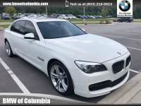 2015 BMW 740Li Sedan 740Li Sedan Rear-wheel Drive