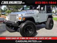2006 Jeep Wrangler 4WD 2dr X