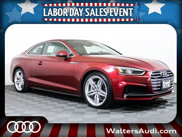 Photo Pre-Owned 2018 Audi A5 Coupe Premium Plus