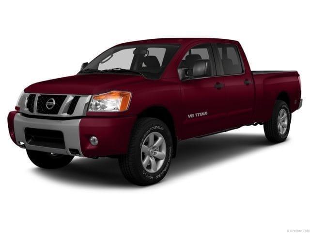 Photo Used 2013 Nissan Titan PRO 4 X Truck Crew Cab for Sale in Sagle, ID