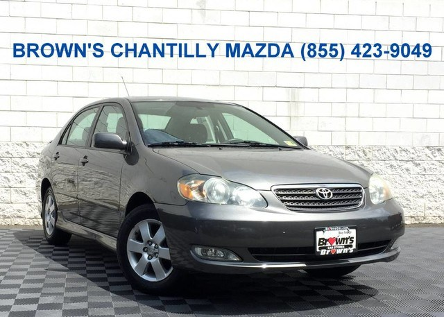 Photo 2007 Toyota Corolla S wMoonroof and Extra Value Package in Chantilly