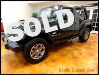 2007 Jeep Wrangler Unlimited Sahara 4 Wheel Drive