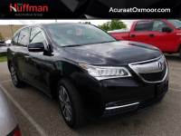 2014 Acura MDX 4D Sport Utility FWD