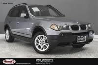 Pre-Owned 2004 BMW X3 2.5i AWD 4dr SUV