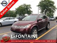 Used 2006 Nissan Murano SL in Commerce Township