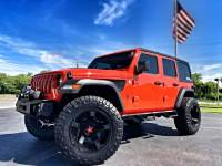 Used 2018 Jeep All-New Wrangler Unlimited PUNKN SPORT S CUSTOM LEATHER HARDTOP LOADED