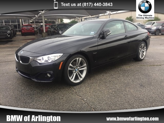 Photo Used 2015 BMW 428i Coupe Rear-wheel Drive in Arlington