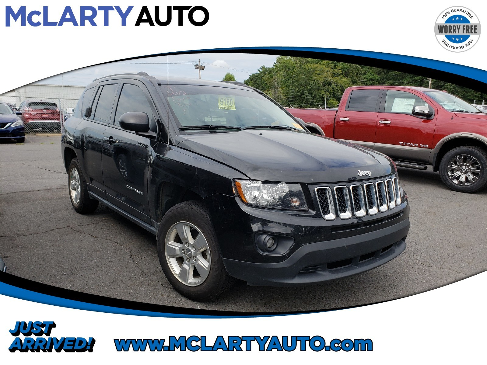 Photo Pre-Owned 2016 Jeep Compass Sport in Little RockNorth Little Rock AR