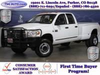 2007 Dodge Ram 3500 Laramie Quad Cab 5.9L I6 Turbo Diesel 4WD DRW