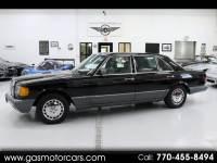 1989 Mercedes-Benz 560 SEL sedan