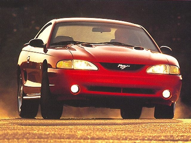 Photo 1998 Ford Mustang SVT Cobra Coupe