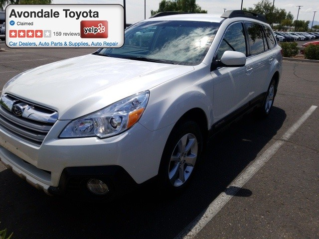 Photo Pre-Owned 2014 Subaru Outback 2.5i Limited CVT SUV All-wheel Drive in Avondale, AZ