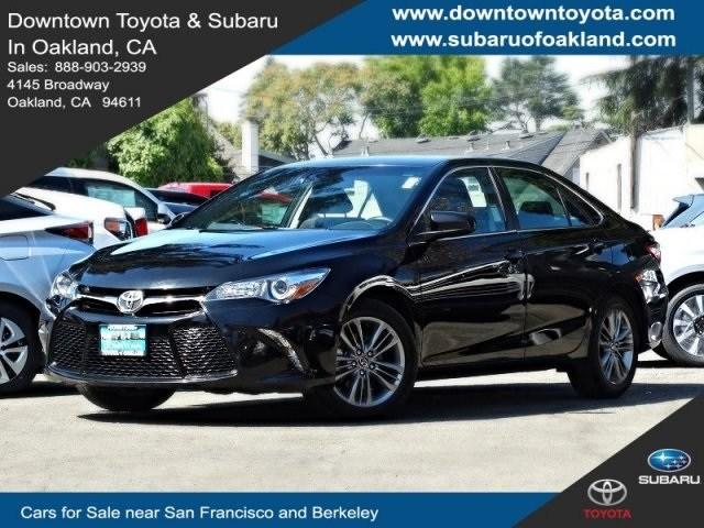 Photo 2017 Toyota Camry Sedan Front-wheel Drive serving Oakland, CA
