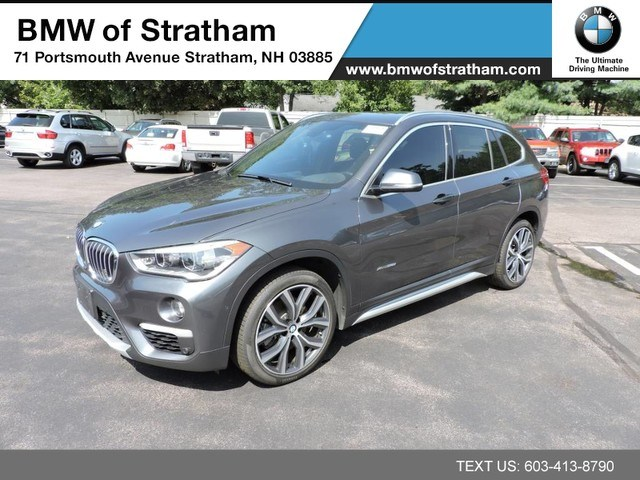 Photo 2016 BMW X1 xDrive28i XLINE LUXURY COLD WEATHER DRIVER ASSIT H SUV All-wheel Drive