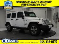 Pre-Owned 2016 Jeep Wrangler JK Unlimited Sahara 4x4 SUV 4x4 Fort Wayne, IN