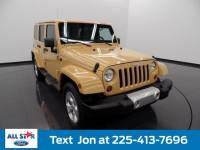 Used 2013 Jeep Wrangler Unlimited 4WD 4dr Sahara SUV