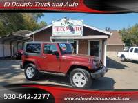 2007 Jeep Wrangler Sahara for sale in El Dorado CA