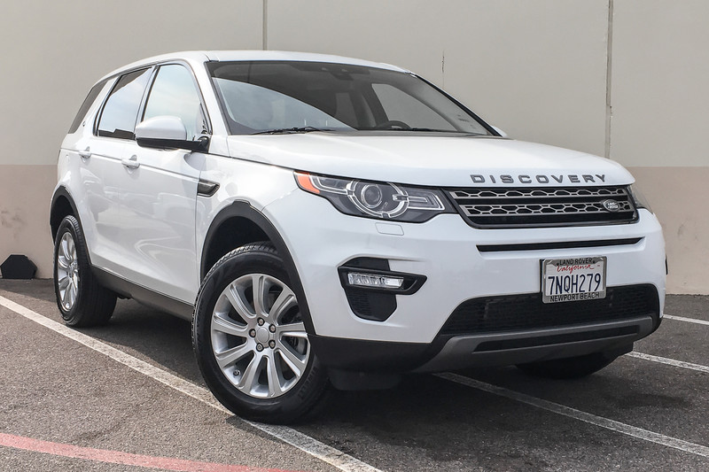 Photo Pre-Owned 2016 Land Rover Discovery Sport SE Four Wheel Drive SUV