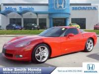 Pre-Owned 2007 Chevrolet Corvette coupe Rear Wheel Drive Coupe