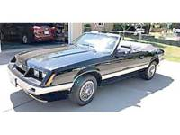 1986 MUSTANG CONVERTIBLE, NEW PAINT,TOP, RUGS, SIDE ...