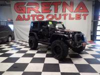 2009 Jeep Wrangler LIFTED 2 DOOR HARD TOP RUBICON AUTO V6 ONLY 49K!