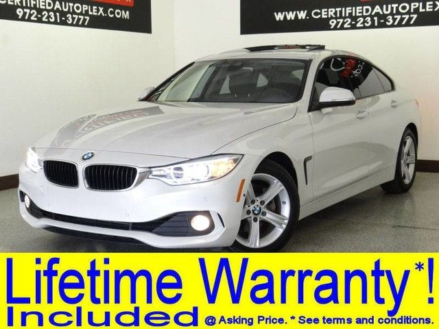 Photo 2015 BMW 428i GRAN COUPE DRIVER ASSIST PLUS PKG NAVIGATION SUNROOF SIDE AND TOP VIEW CAM
