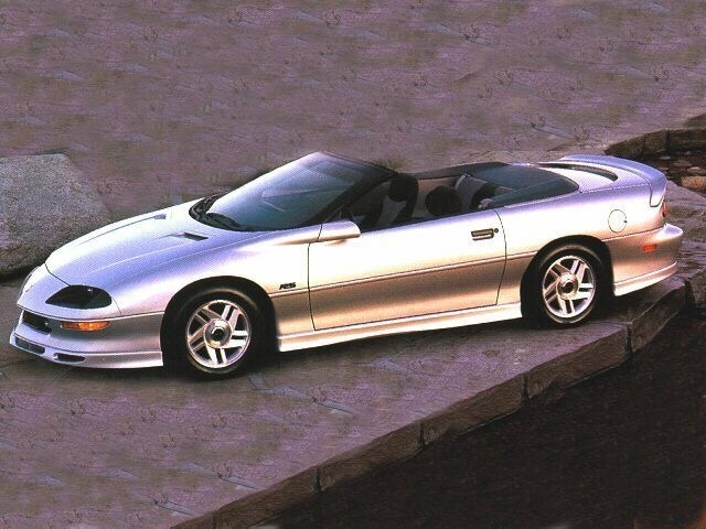 Photo Used 1997 Chevrolet Camaro Z28 Convertible for Sale near Atlanta, GA